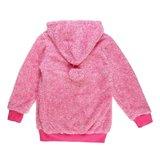 Rose gemoltoneerde meisjes sweater met deco._