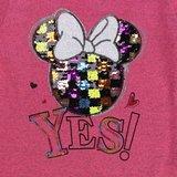 Rose meisjes pullover met deco en opschrift._