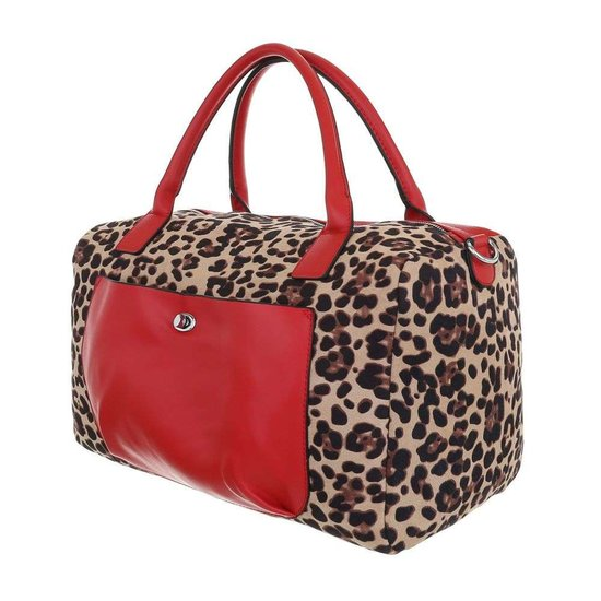 Trendy handtas rood.SOLD OUT