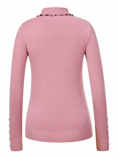 Old rose pull over.