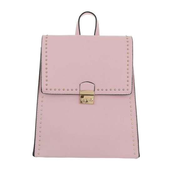 Square backpack rose.SOLD OUT