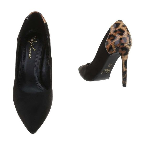 Stylish luipaard print pump Tia.