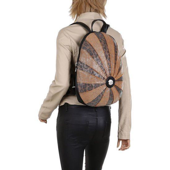 Fashion gele backpack.