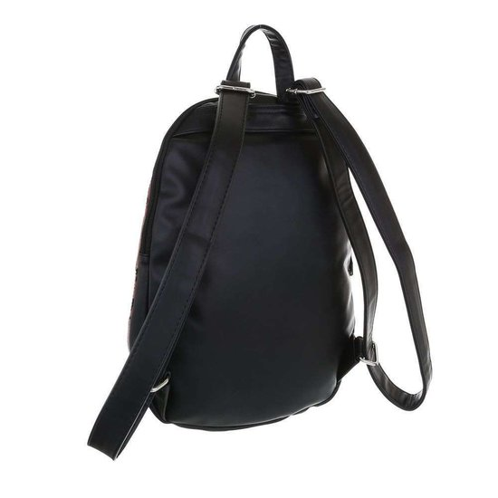 Fashion grijze backpack.
