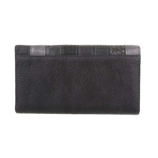 Mix grijze portemonnee.