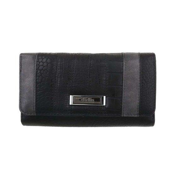 Mix zwarte portemonnee.