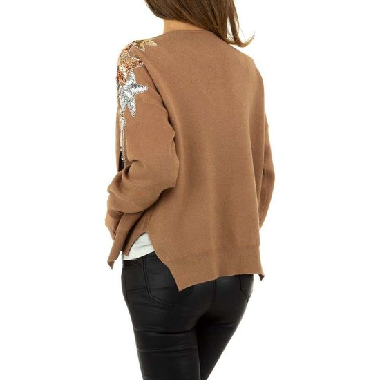Trendy camel gilet.SOLD OUT