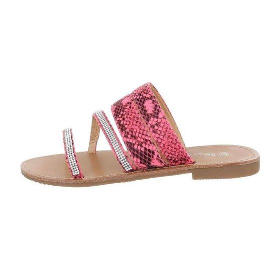 Lage rose sandaal Patil.