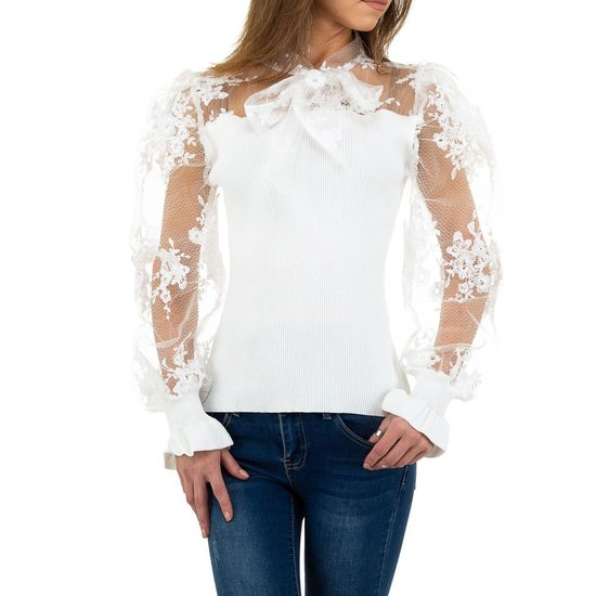 Fashion witte blouse