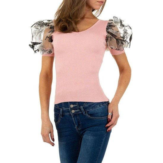 Trendy rose blouse/top.