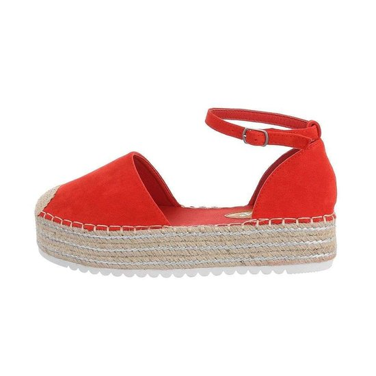 Casual rode espadrille Camila.SOLD OUT