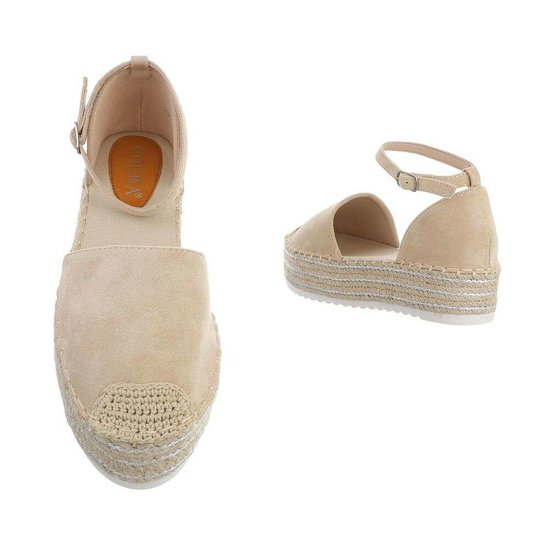 Espadrilles beiges Camila.SOLD OUT