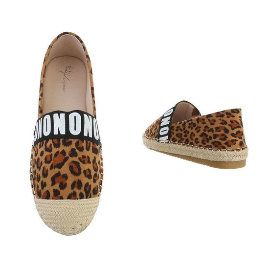 Trendy leopard espadrille Kimber.