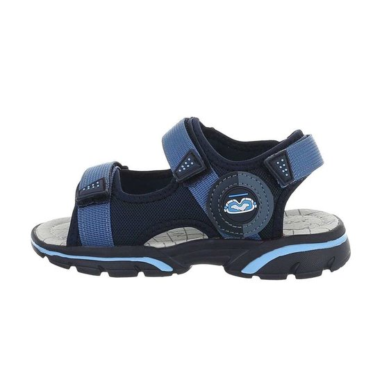 Trendy navy blauwe kinder sandaal Franki.SOLD OUT
