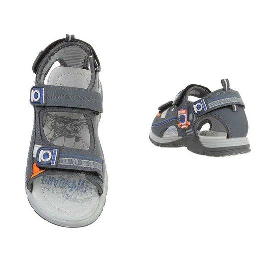 Fashion grijze kinder sandaal Kirk.