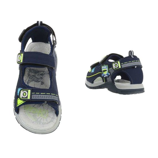 Fashion blauwe kinder sandaal Kirk.SOLD OUT