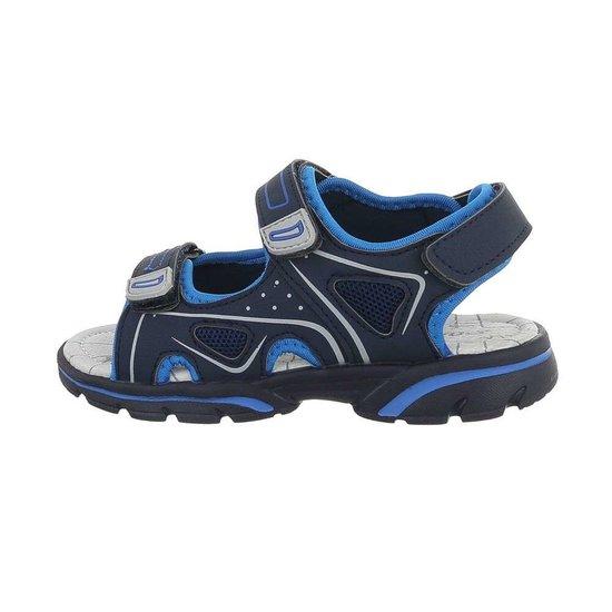 Navy blauw kinder sandaal Leno.