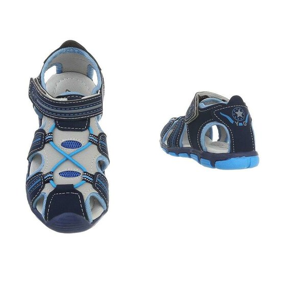 Blauwe kinder sandaal Louis.SOLD OUT