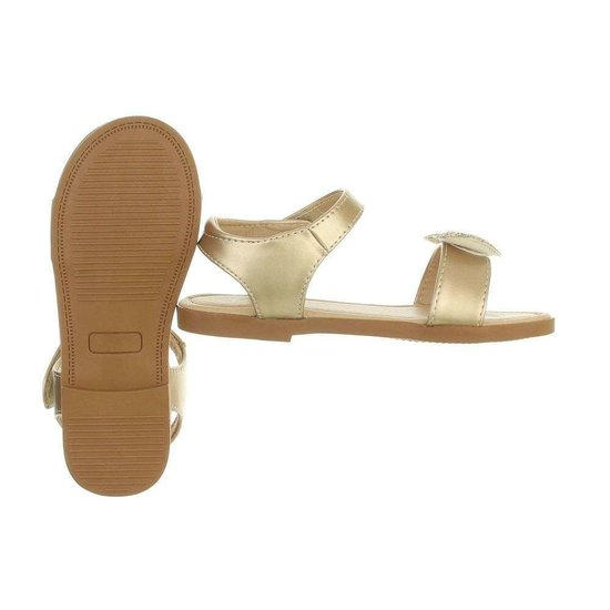Gouden kinder sandaal Amber.