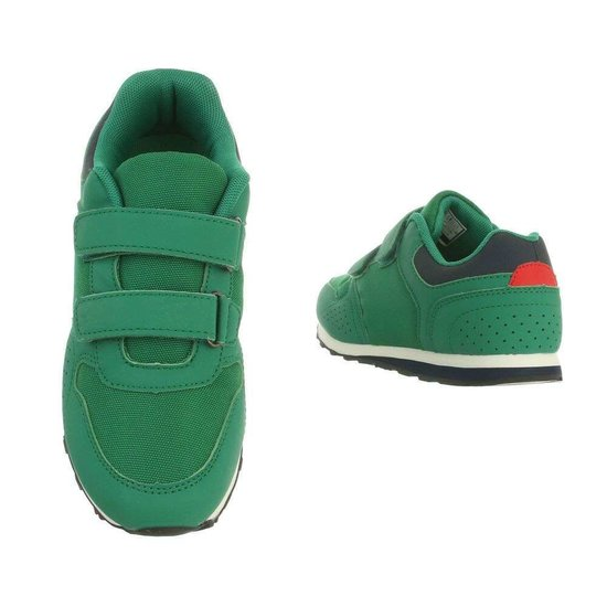 Leuke groene kinder sneaker Ben.