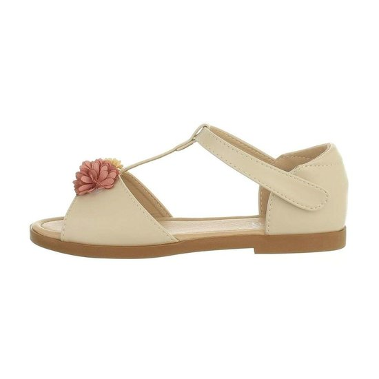 Elegante beige kinder sandaal Kira.