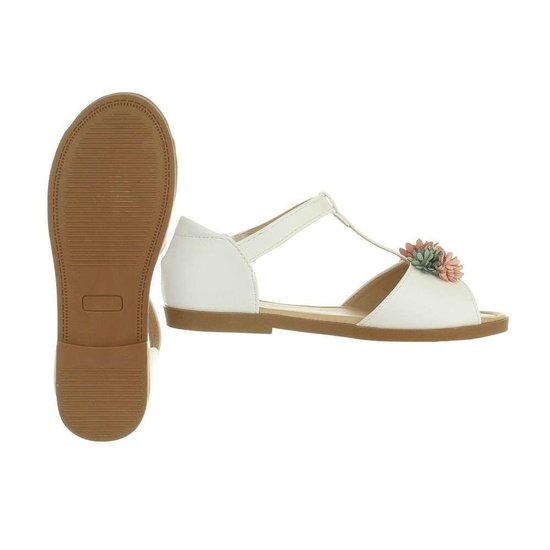 Elegante witte kinder sandaal Kira.