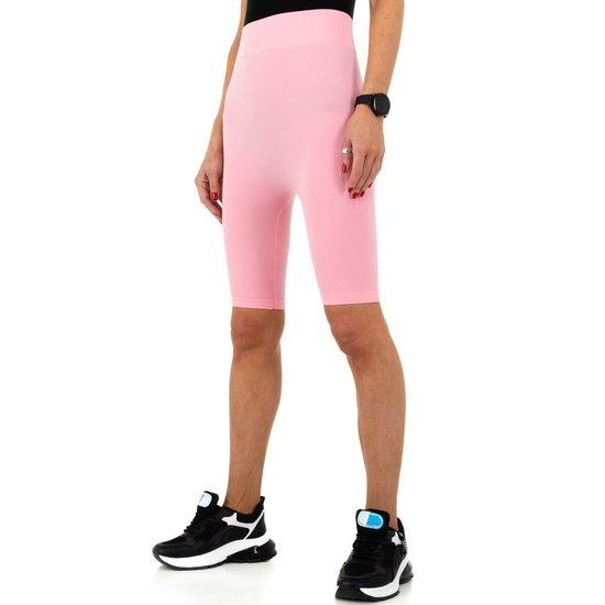 Rose sportieve short.