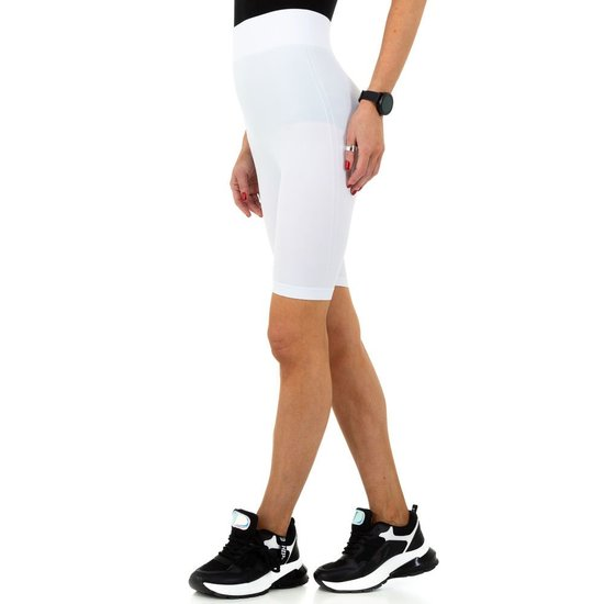 Witte sportieve short.SOLD OUT
