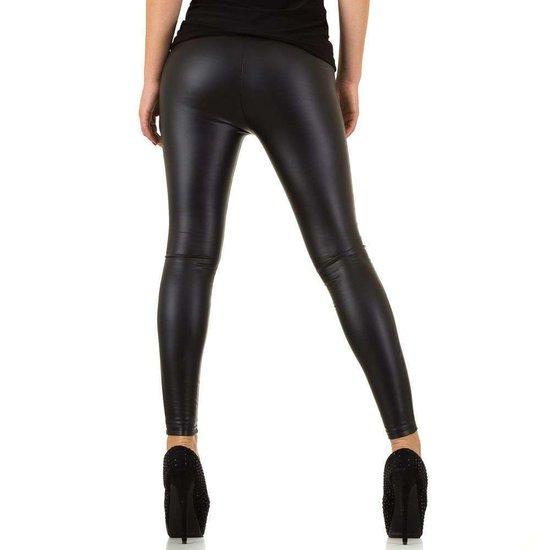 Modieuze zwarte legging.