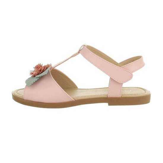 Rose kinder sandaal Nele.