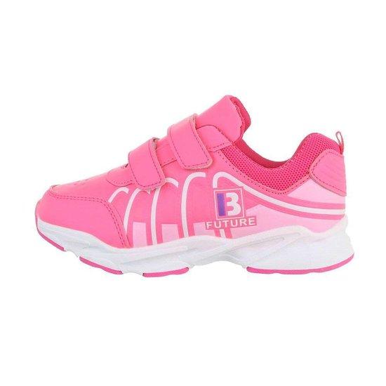 Trendy rose kinder sneaker Rika.SOLD OUT