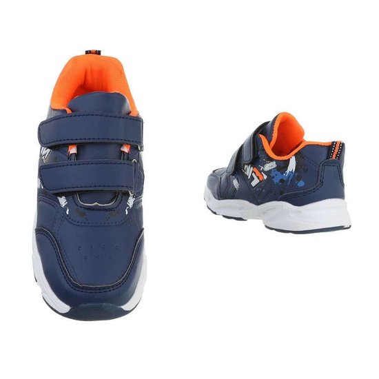 Hippe blauwe kinder sneaker Daan SOLD OUT