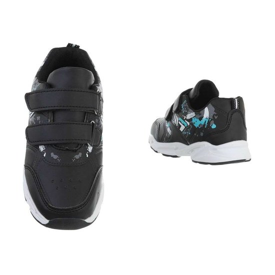 Hippe zwarte kinder sneaker Daan SOLD OUT
