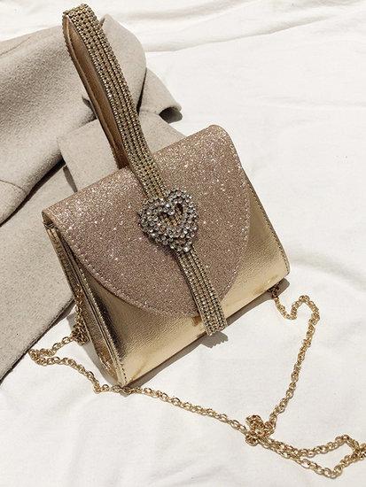 Rose gouden avond-handtas.