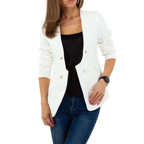 Witte design blazer.