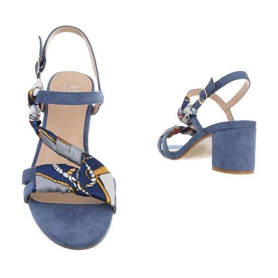 Blauwe sandaal Flox.
