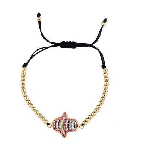 Fashion combo armband design 1A.
