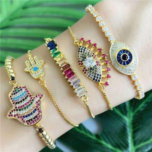 Fashion combo armband design 1E.