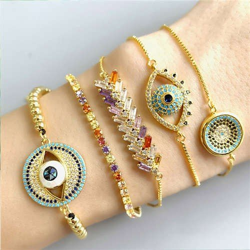 Fashion combo armband design 2B.