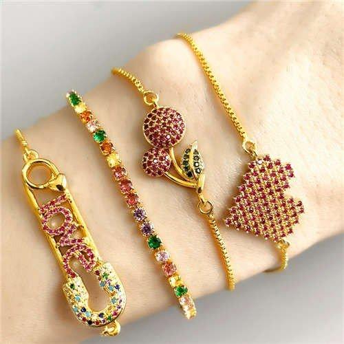 Fashion combo armband design 3 B TIJDELIJK OUT OF STOCK