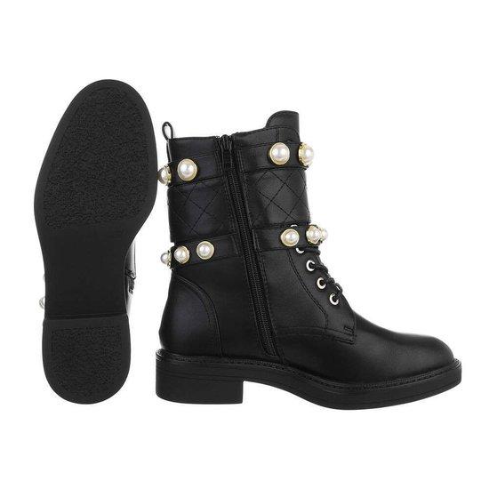 Fashion zwarte boot Ranomi.