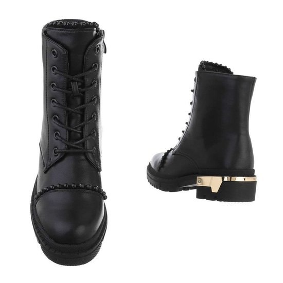 Zwarte fashion boot Kinga.