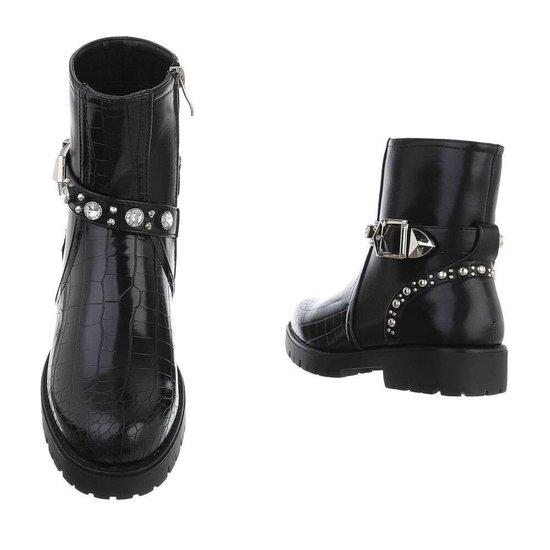 Trendy zwarte boot Voldi.