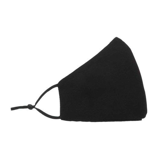 Zwart mondmasker met opschrift SEXY.