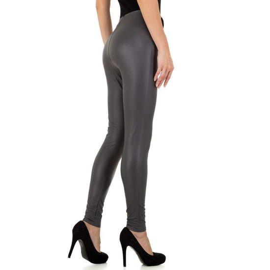 Fashion grijze legging.