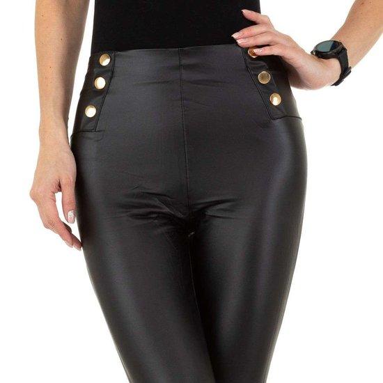Fashion zwarte legging.