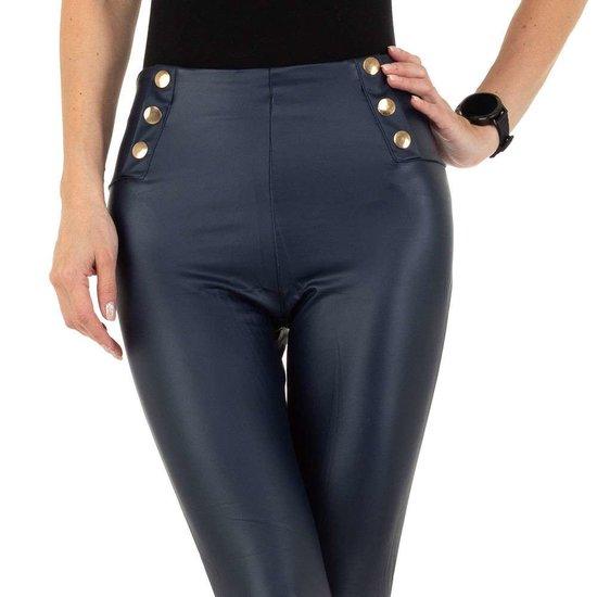 Fashion donker blauwe legging.