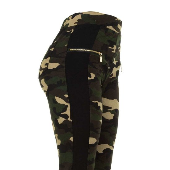 Trendy camouflage hoge taille  legging.
