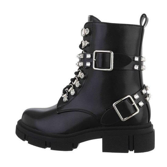 Fashion zwarte boot Malou.