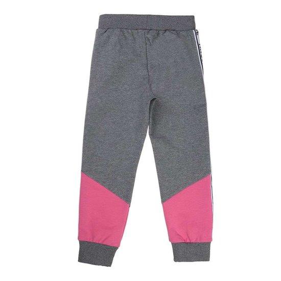 Grijs-roze meisjes jogging.